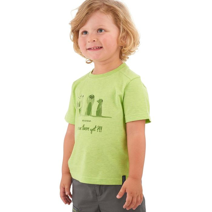 Hike 500 Children's Boy's Hiking T-Shirt – Blue - 1258199
