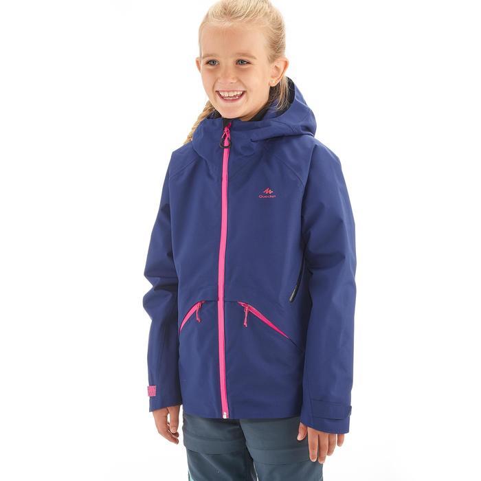 Veste de randonnée enfant Hike 900 bleue - 1258220
