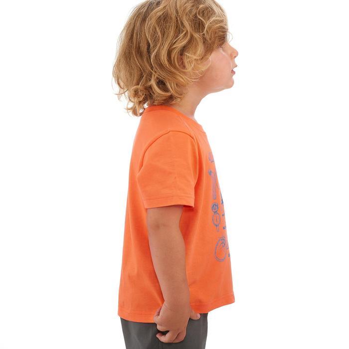 Wandelshirt voor kinderen Hike 500 Melon