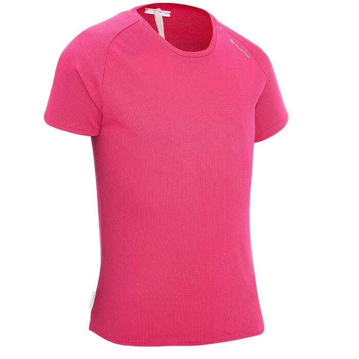 Wandelshirt voor meisjes MH500 roze