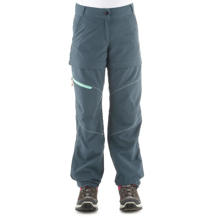 Children's Modular MH550 JR hiking trousers - Dark Grey