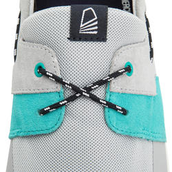Chaussures bateau homme Cruise 100 gris turquoise