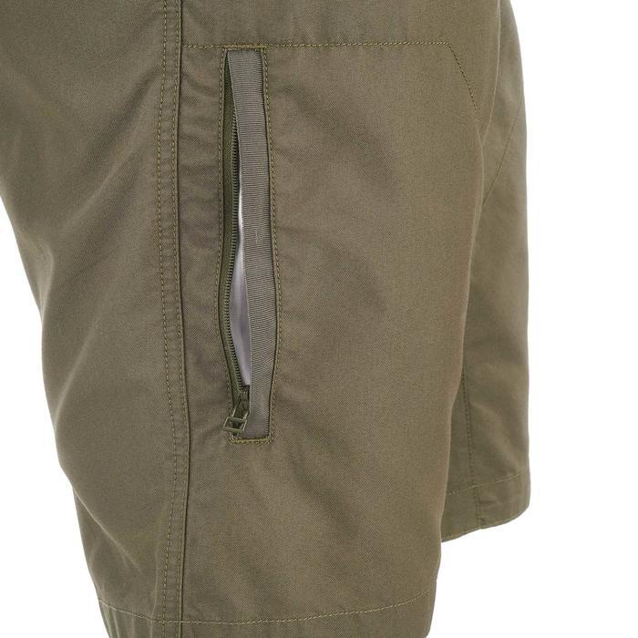 Pantalón corto de senderismo en la naturaleza hombre NH500 caqui