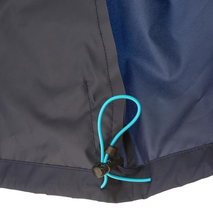 Coupe pluie Imperméable randonnée nature homme Raincut zip marine - 1258321
