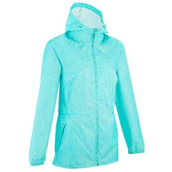 Raincut Zip Women's Nature Hiking Waterproof Rain jacket - White