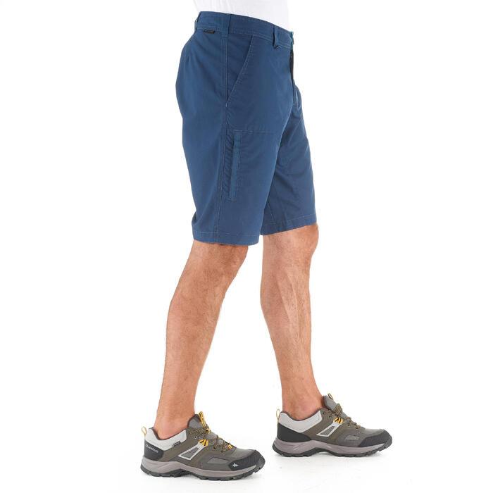 Pantalón corto de senderismo por la naturaleza hombre NH500 azul marino