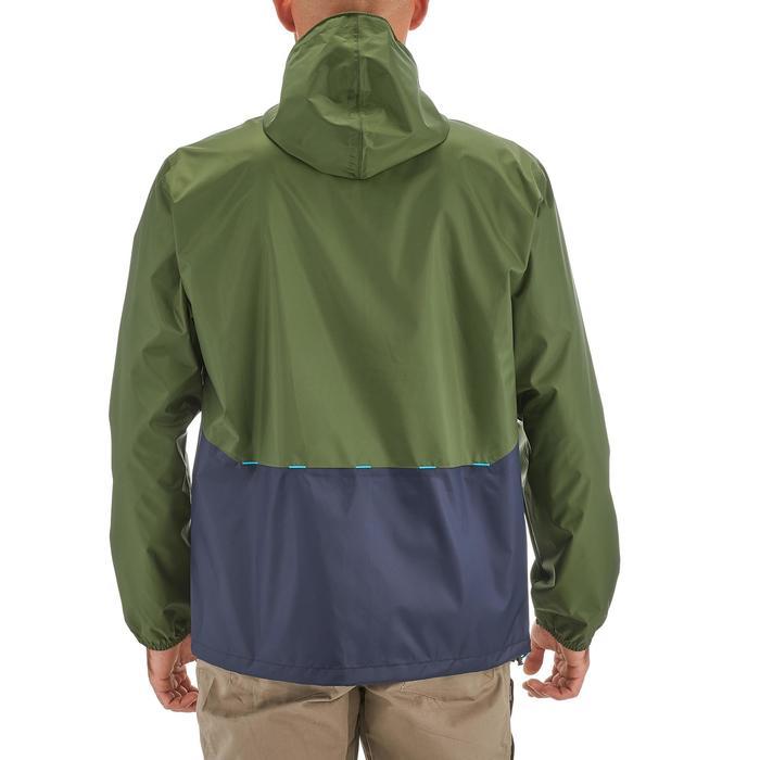 Coupe pluie Imperméable randonnée nature homme Raincut zip marine - 1258362