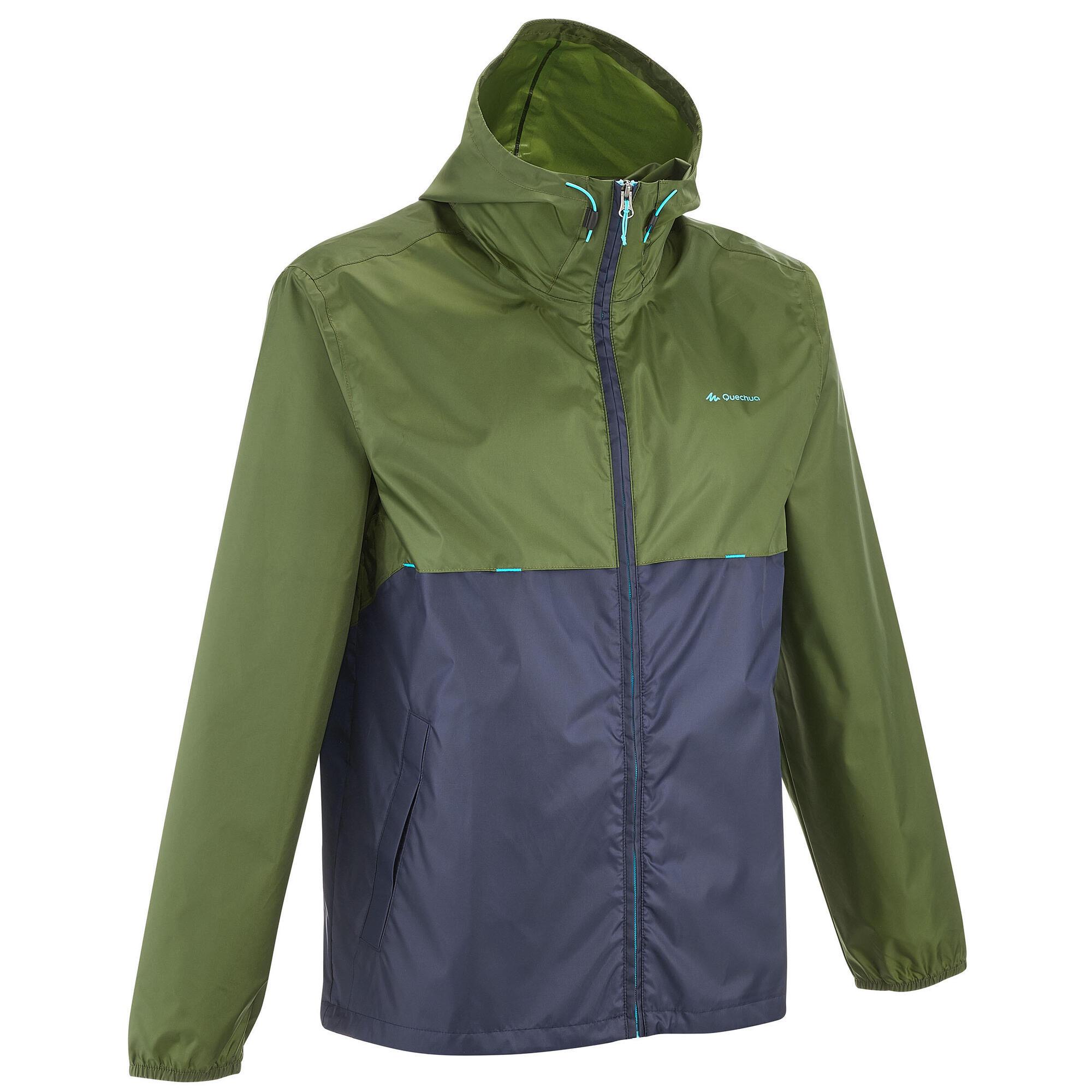 Raincut Zip Men's Waterproof Hiking Rain Jacket
