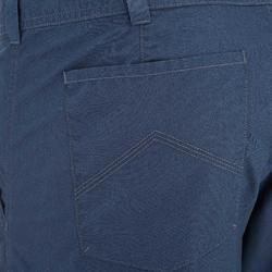 Pantalón Corto de Montaña y Senderismo Naturaleza Quechua NH500 Hombre Azul