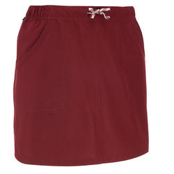 NH100 Women's Country Walking Skort - Burgundy