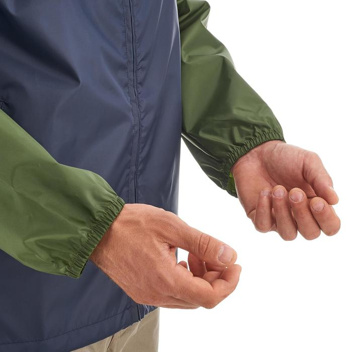 Regenjacke Raincut Zip Herren marineblau/khaki