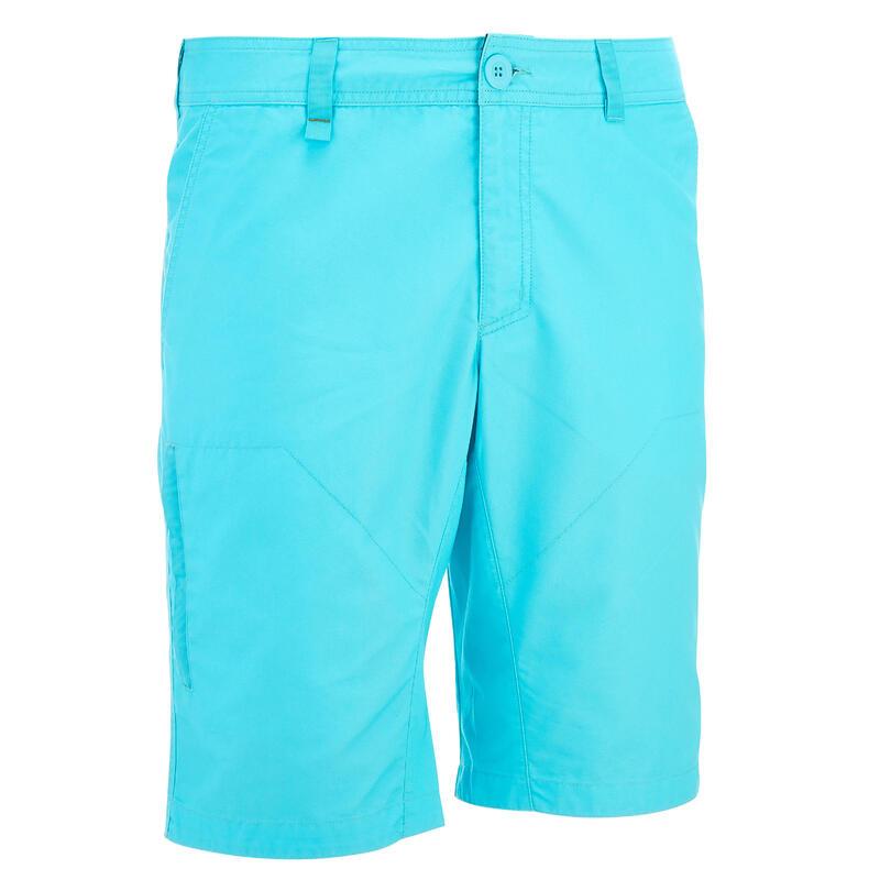Men's NH500 Country Walking Shorts - Turquoise