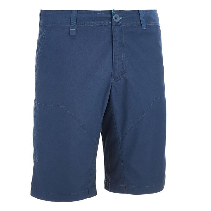 Short de senderismo por la naturaleza hombre NH500 azul marino