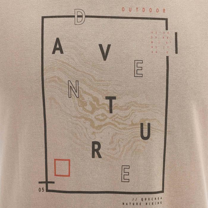 Tee shirt randonnée nature homme NH500 chiné - 1258393