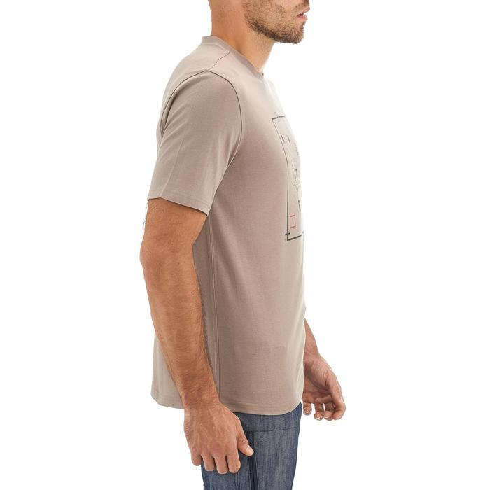 Tee shirt randonnée nature homme NH500 chiné - 1258407