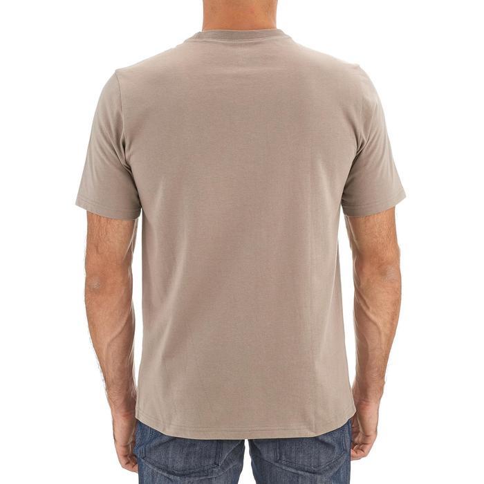 Tee shirt randonnée nature homme NH500 beige