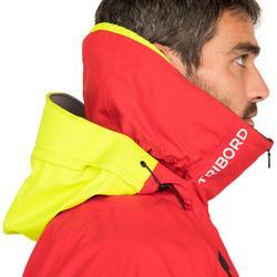 Zeiljas smock jacket wedstrijdzeilen heren Offshore rood