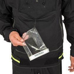 Zeiljas heren smock jacket voor wedstrijdzeilen Offshore 900 zwart