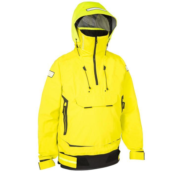 Chaqueta náutica vareuse hombre Race Offshore amarillo