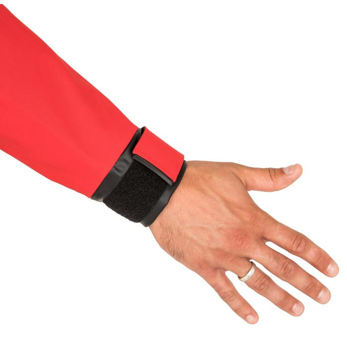 Zeiljas heren smock jacket voor wedstrijdzeilen Offshore 900 rood