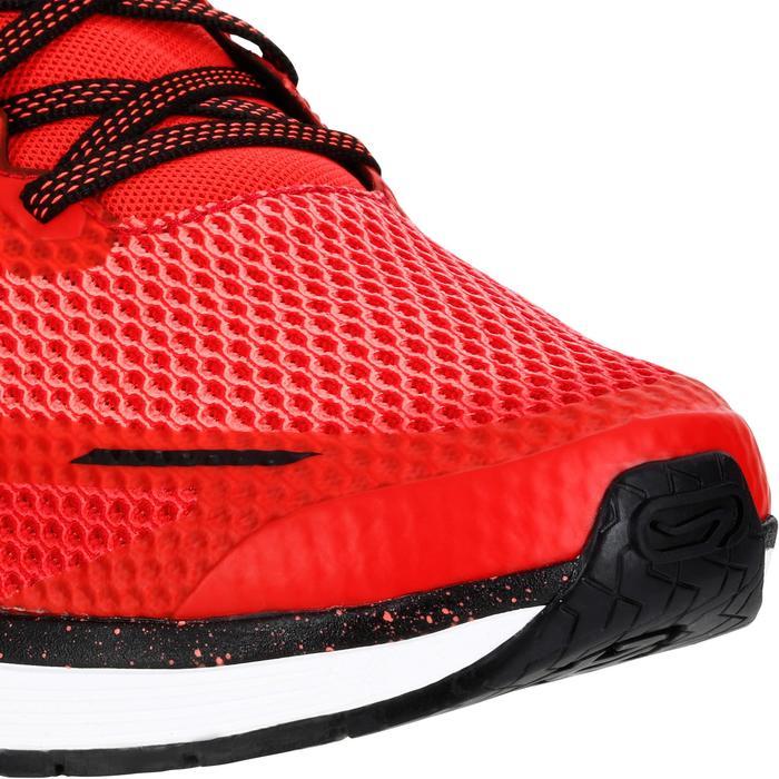 Hardloopschoenen voor heren Kiprun Fast rood zwart