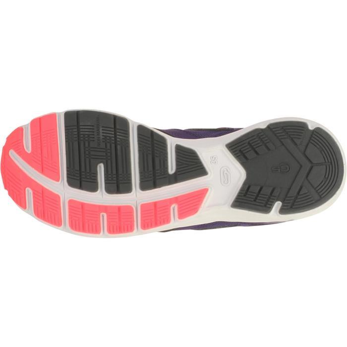 loopschoenen voor kinderen Kiprun grijs/roze