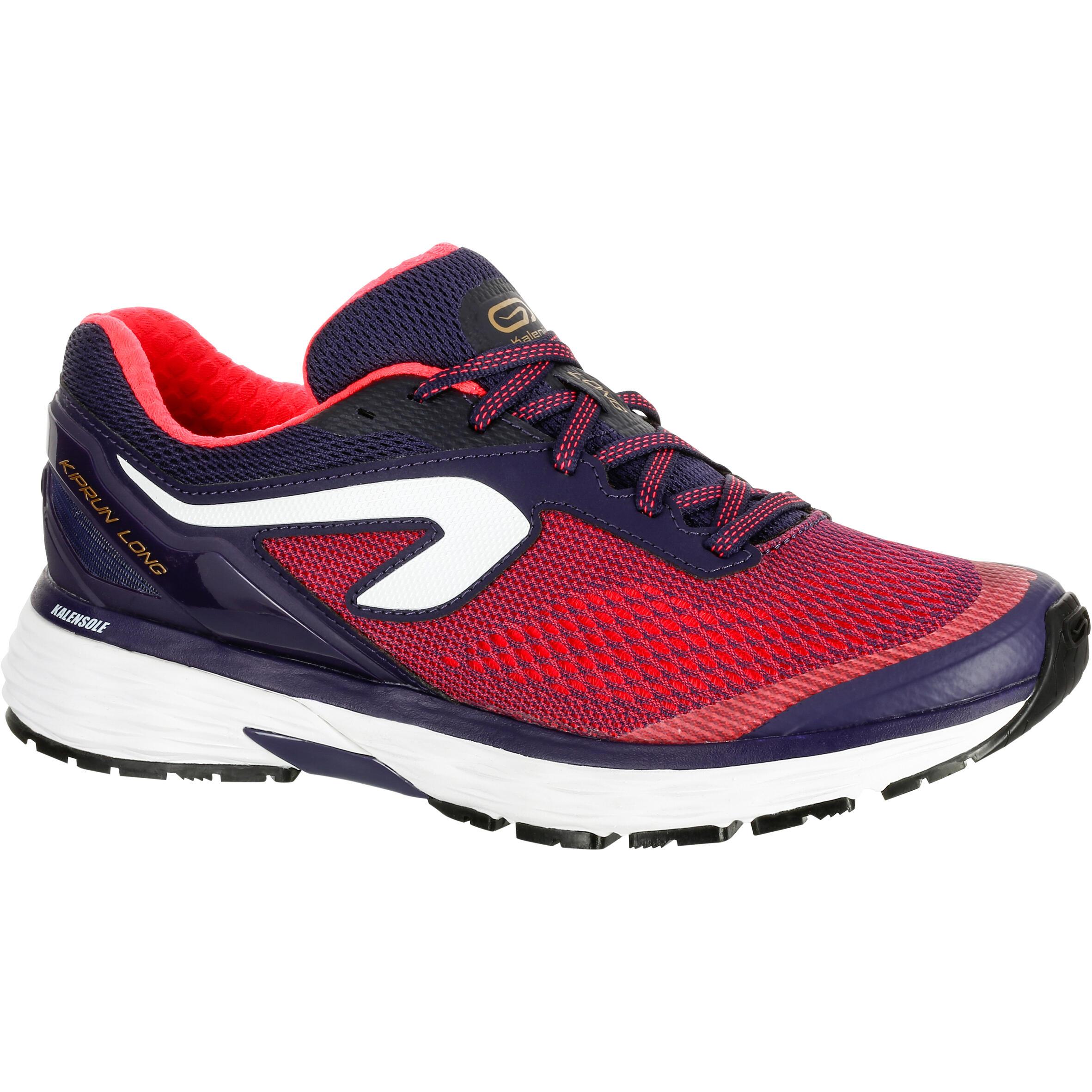 2501781 Kalenji Hardloopschoenen voor dames Kiprun Long koraal blauw