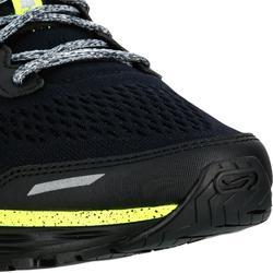 Zapatillas Running Kalenji Kiprun Long Perlante Hombre Negro/Amarillo Limón