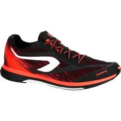 KIPRUN RACE MEN'S RUNNING SHOES - BLACK/RED