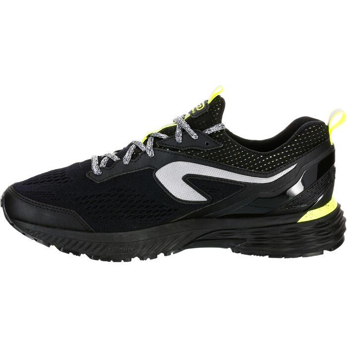 Waterafstotende hardloopschoenen voor heren Kiprun Long zwart geel