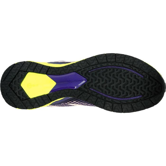 Hardloopschoenen voor dames Kalenji Kiprun Fast paars geel