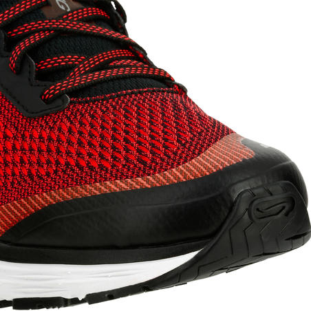 ESPADRILLES DE COURSE HOMME KIPRUN LONG ROUGES