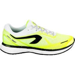 Calzado Running Kalenji Kiprun Fast Hombre Amarillo Límon/Negro