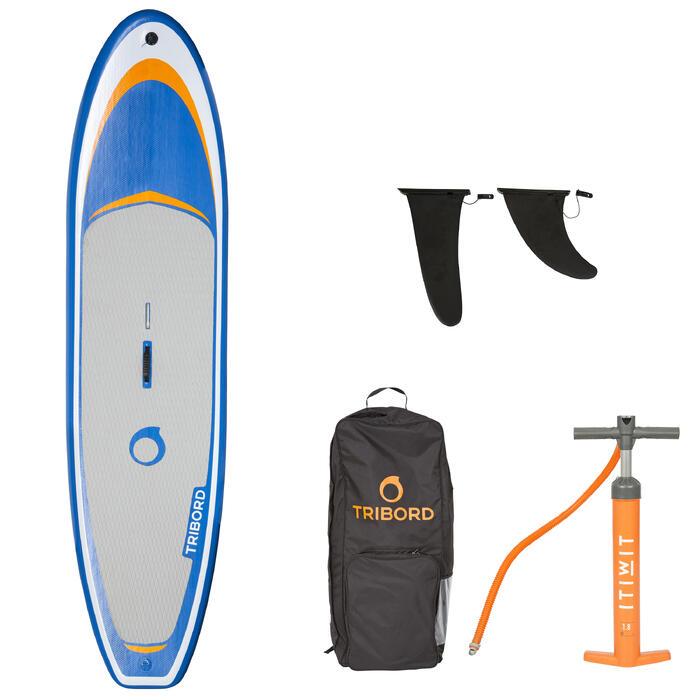 Planche à voile gonflable 320L adaptée à l'apprentissage du windsurf. - 1258969