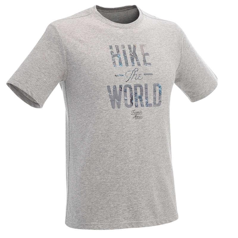 TS CALÇÕES CAM PLAN HOMEM Caminhada na Natureza e Trekking - T-shirt Caminhada Homem NH500  QUECHUA - Caminhada e Trekking Homem