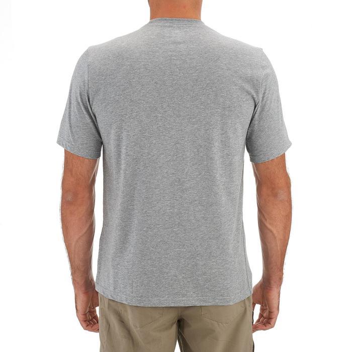 Tee shirt randonnée nature homme NH500 chiné - 1258987