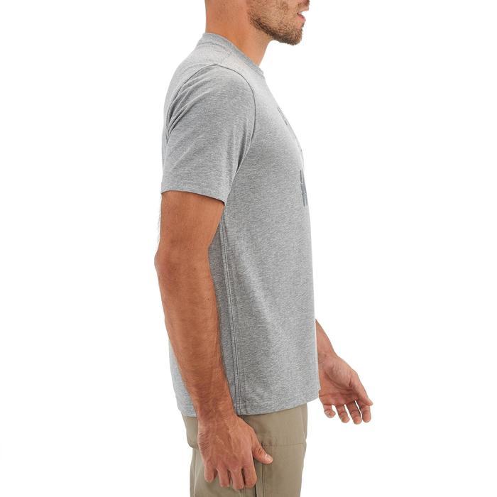 Tee shirt randonnée nature homme NH500 chiné - 1258989