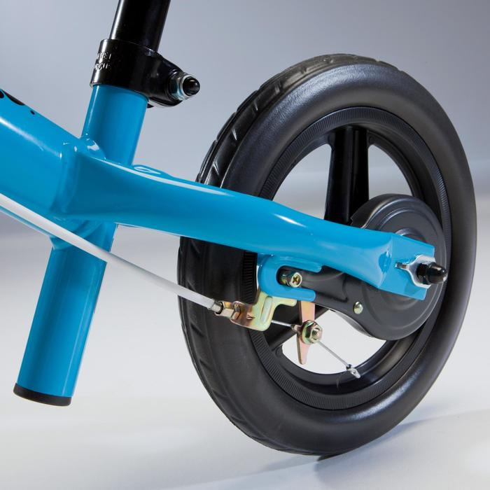 Kinderlaufrad 10 Zoll Run Ride 500 blau/grün