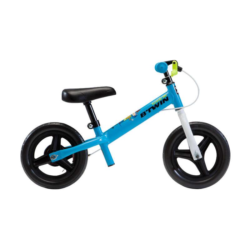 CYKLAR FÖR ATT LÄRA SIG (1-4 ÅR) Cykelsport - RUNRIDE 500 Blå Grön BTWIN - Barncyklar och BMX