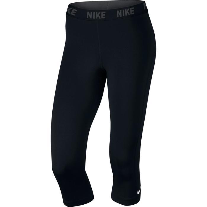 Legging 7/8ème fitness femme noir - 1259059