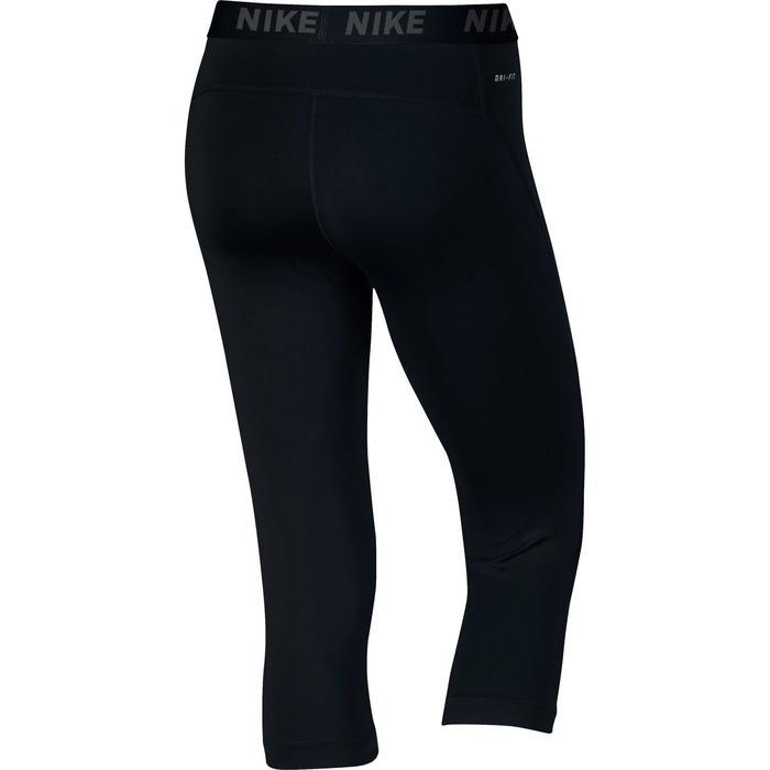 Legging 7/8ème fitness femme noir - 1259060