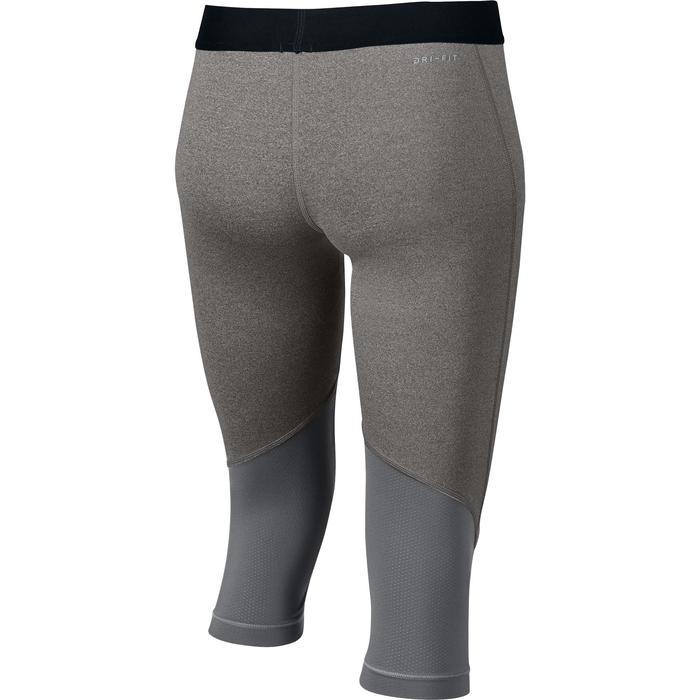 Legging 7/8 Fitness fille noir - 1259066
