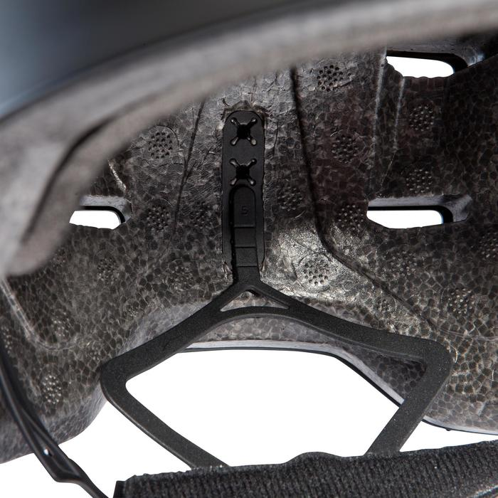 Casco para roller skateboard patinete MF500 gris