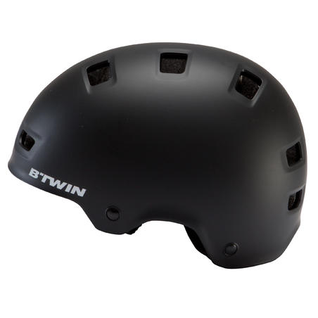 500 Teen Cycling Helmet Black