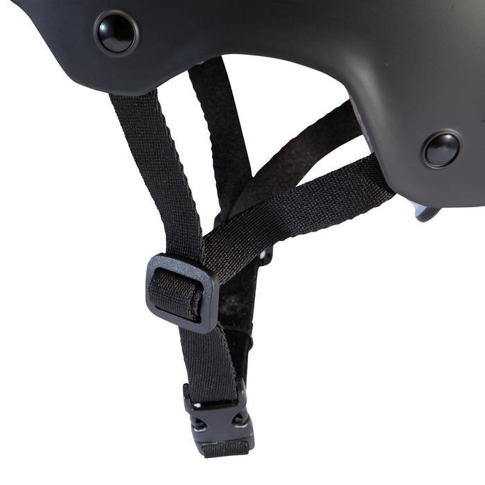 fahrradhelm 500 teen schwarz b 39 twin decathlon. Black Bedroom Furniture Sets. Home Design Ideas