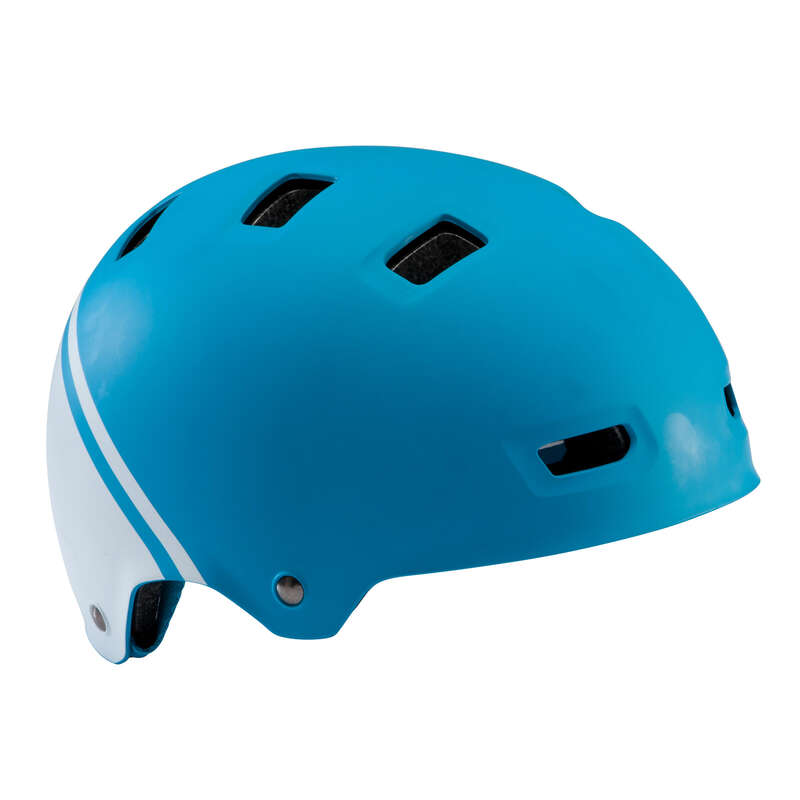 KIDS BIKE HELMETS Cycling - 520 Teen Cycling Helmet - Blue B'TWIN - Cycling