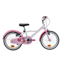 "Kinderfahrrad 16"" Docto Girl 500 weiss/pink"
