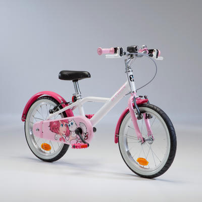 Kids' 16-Inch Bike 4.5-6 Years 500 - Docto Girl