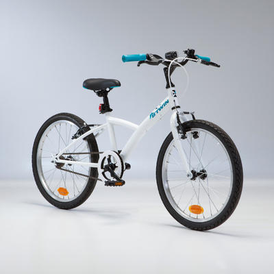 """Original 100 Kids' 20"""" Hybrid Bike 6-9 Years"""