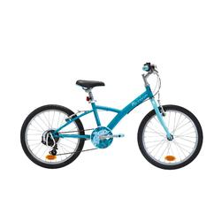 "20"" Original 120 Kid Hybrid Bike - Light blue"